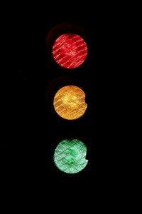 code de la route feu rouge